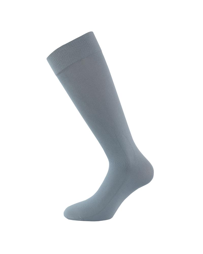 Pack de 2 meias lisas opacas pelo joelho