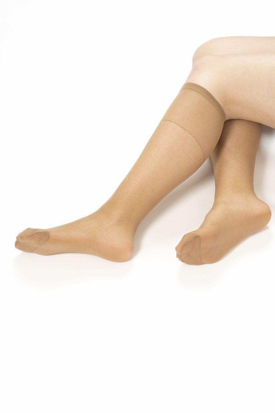 Pack de 2 pares de meias pelo joelho